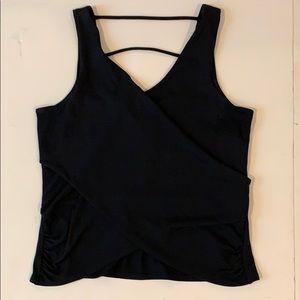 Bebe Women's Black Sleeveless top